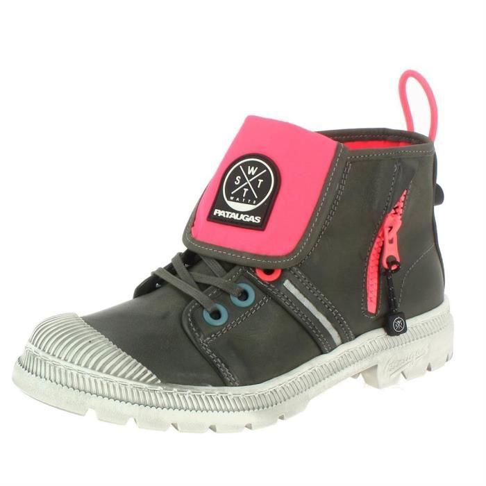 Bottines / boots alabama femme pataugas 627205 Gris - Achat