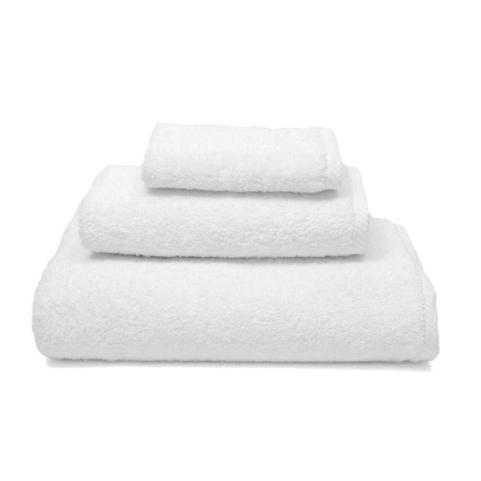 4 Draps de bain LUXE 850gr//m/² couleurs assorties 80x150cm 100/% coton Egyptien en coton peign/é z/éro twist ultra douce drap de bain