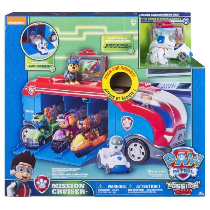 CAMION ENFANT PAW PATROL - 6035961 - Camion Mission Cruiser