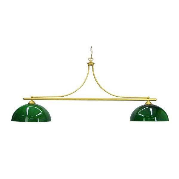 luminaire de billard 2 globes vert achat vente. Black Bedroom Furniture Sets. Home Design Ideas