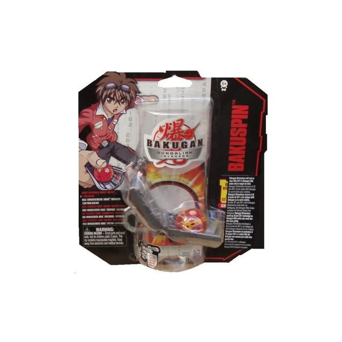 spin master set bakugan boule rouge avec controleur de direction et carte portail metallique. Black Bedroom Furniture Sets. Home Design Ideas