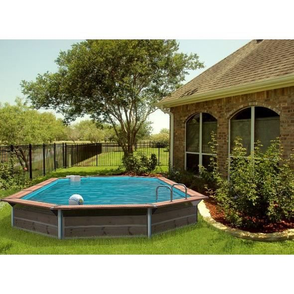 piscine bois allong e water clip 890 x 420 x 147 cm On piscine x water