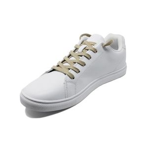 AVEL Lacets chaussures beige plats