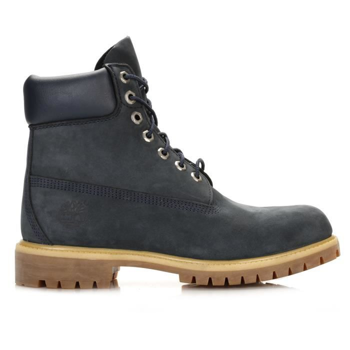Timberland Homme Navy Premium 6 Inch Waterproof Botte-UK 9.5