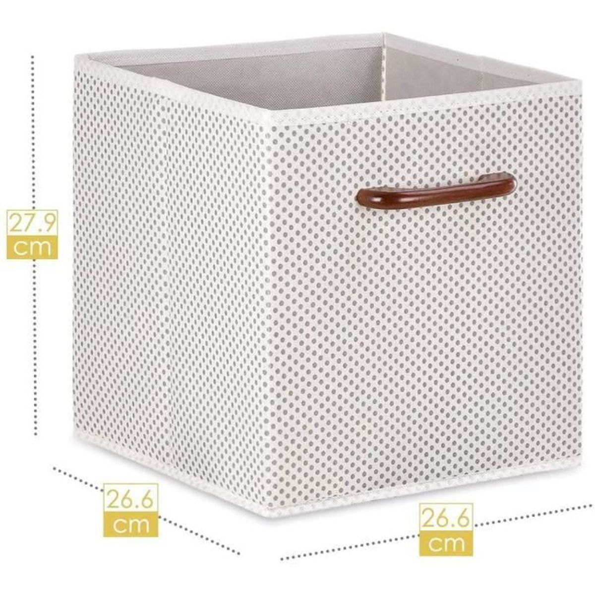 Maidmax Casier Rangement Cube De Rangement Tissu Boite De Rangement Tissu Tiroir Rangement Panieres Rangement Avec Poignees En Achat Vente Caisse Alimentaire Bientot Le Black Friday Cdiscount
