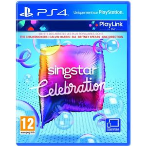 JEU PS4 SingStar Celebration - Gamme PlayLink