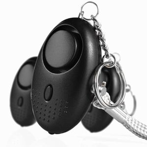 Alarme personnelle 130 DB avec Lampe de Poche Porte-cl/és USB Rechargeable Alarme de Poche Alarme de Panique pour Femmes Enfants Lot de 2