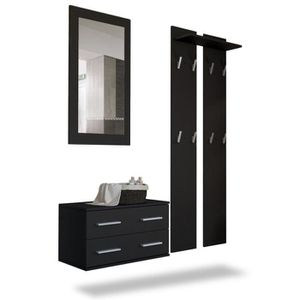 meuble d 39 entr e achat vente meuble d 39 entr e pas cher cdiscount. Black Bedroom Furniture Sets. Home Design Ideas