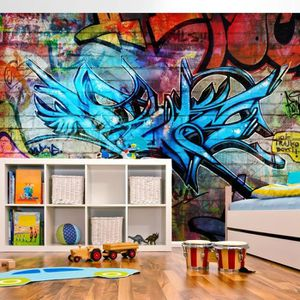 papier peint graffiti achat vente papier peint graffiti pas cher cdiscount. Black Bedroom Furniture Sets. Home Design Ideas