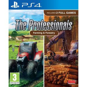 JEU PS4 The Professionals (Farming & Forestry) PS4