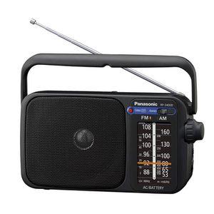 RADIO CD CASSETTE Panasonic Radio FM Portable RF-2400DEG-K Radio FM-