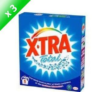 LESSIVE XTRA Lessives Total - 5 Lavages - Lot de 3