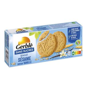 BISCUITS SECS Biscuits sésame sans sucres 132 g Gerblé