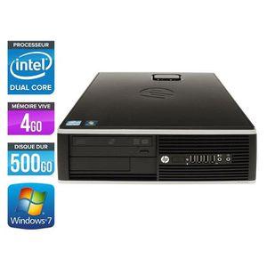 UNITÉ CENTRALE  HP Elite 8200 SFF -Intel G840 2.8GHz - 4Go - 500Go