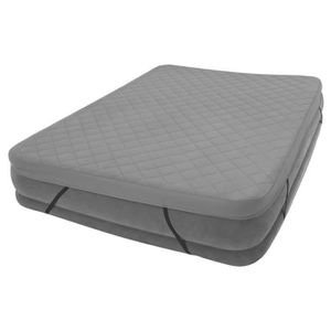 LIT GONFLABLE - AIRBED Intex Surmatelas 2 Places Polyester 203x152x10cm