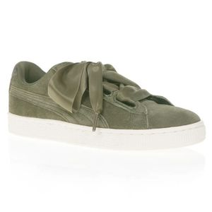 Chaussures de sport femme Vert Achat Vente pas cher