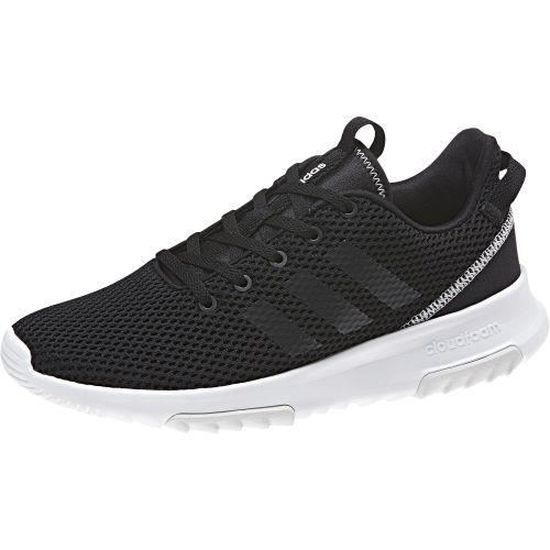 Adidas - Chaussure femme Cloudfoam Racer neo adidas - (noir - 41 1 ...
