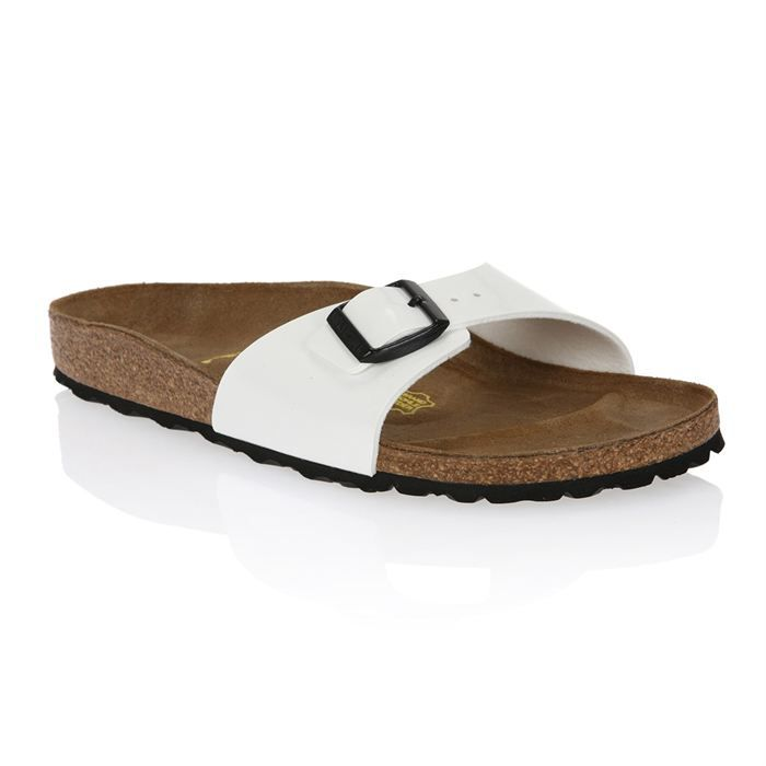 birkenstock mules madrid femme femme blanc vernis achat vente birkenstock madrid femme. Black Bedroom Furniture Sets. Home Design Ideas
