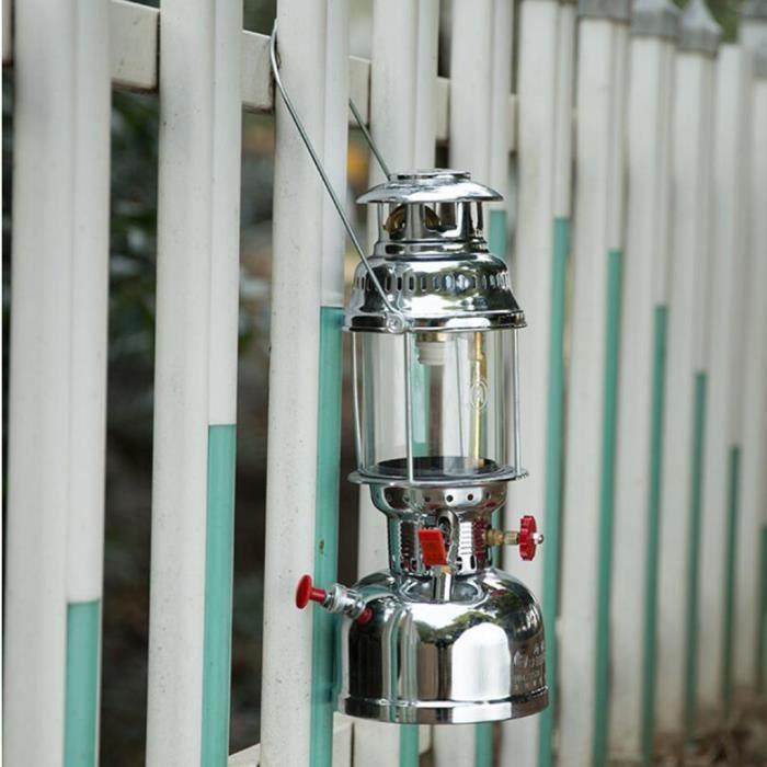 24 Pcs Camping Lanterne à Gaz Lampe Suspendue Réglable Lampe à Gaz