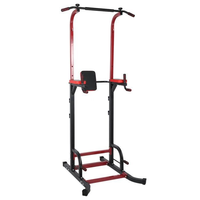 Station de tractions et fitness,Barre de traction Station musculation Dips station HB002 -LUS