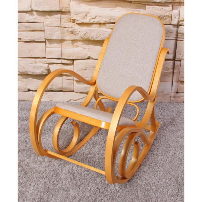 Rocking-Chair Fauteuil A Bascule