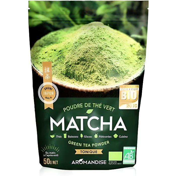 Le thé vert Matcha peut être bu comme un thé ou parfumer vos préparations culinaires aussi bien salées que sucrées