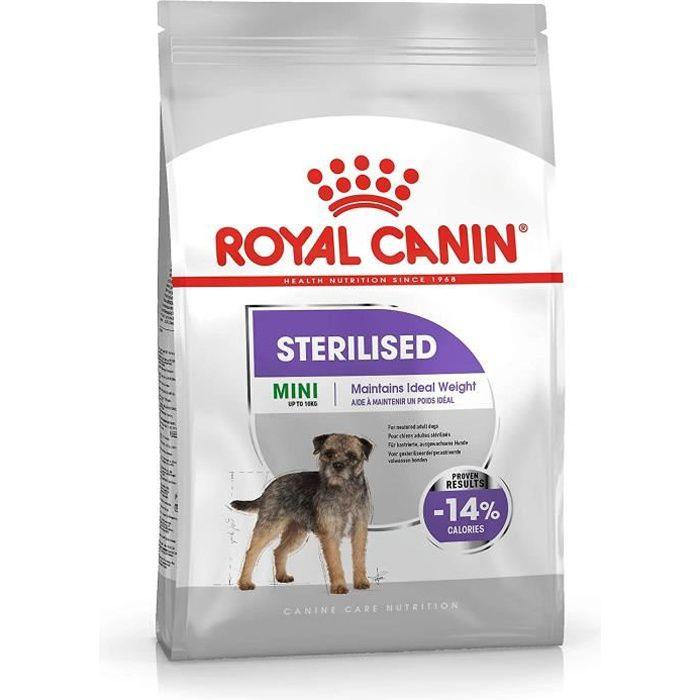 Nourriture pour chiens ROYAL CANIN Mini Sterilised - 1 kg 36724