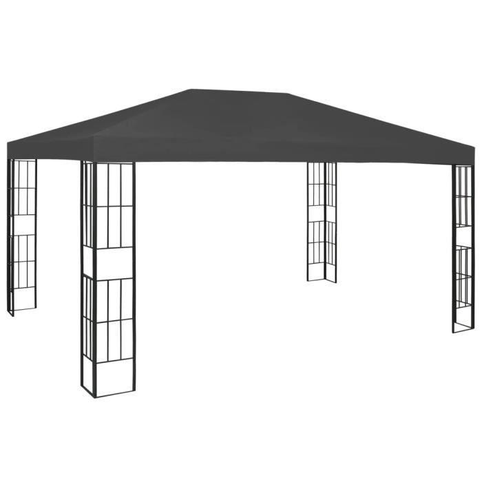 Tonnelle de jardin - Barnum 3x4 m Anthracite