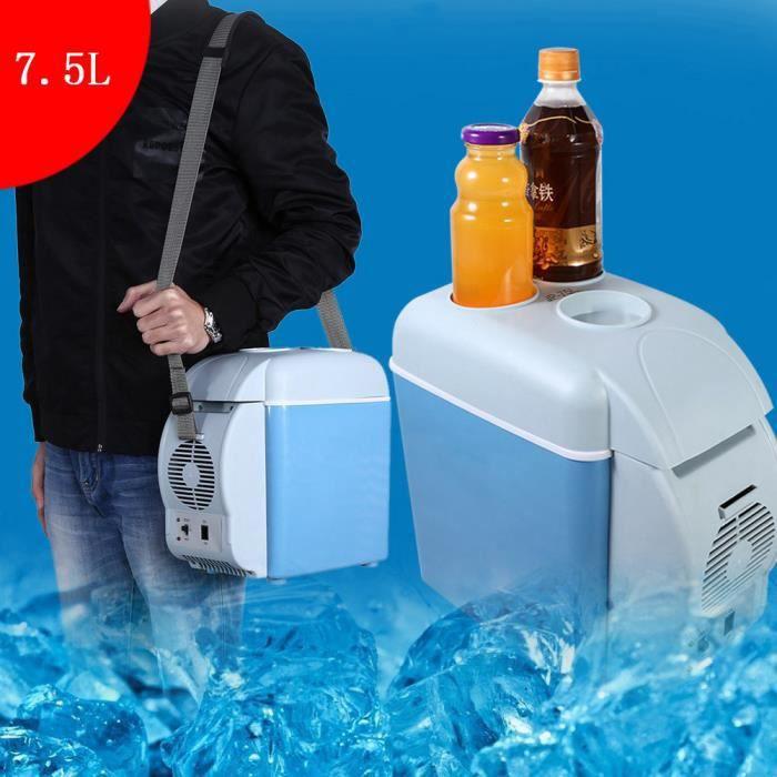 7.5L Portable Mini Frigo Réfrigérateur de Voiture mini frigidaire Maison Congélateur Pour Bar Caravane Camping