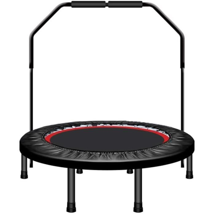 TRAMPOLINE FITNESS ZXQZ Trampolines Fitness Trampoline pour Enfants Adultes, Exercice Trampoline Rebounder Fitness avec Main Cou430