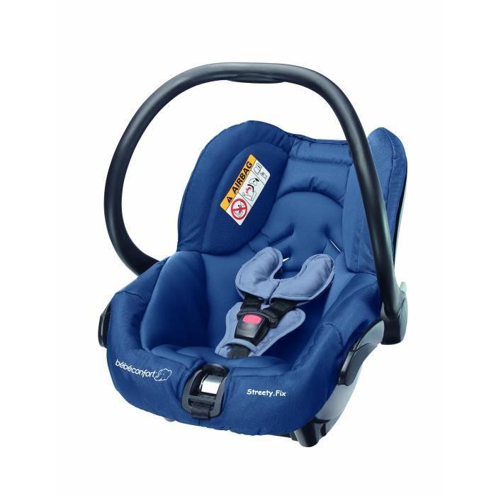 Bébé Confort Streety. Fix – Siège auto, groupe 0 +, 0 – 13 kg, couleur BLEU