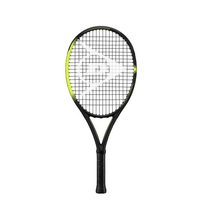 Raquette enfant Dunlop x 300 25 g0 - noir/jaune - TU