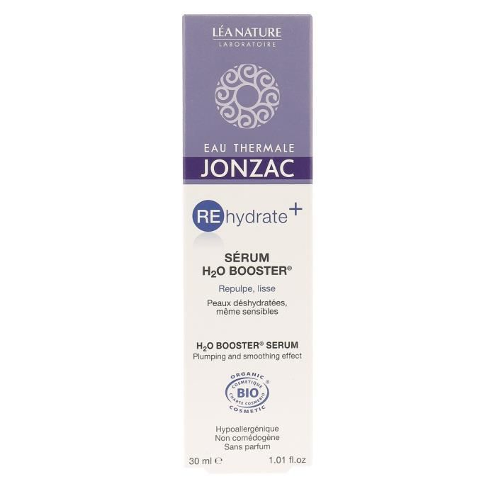 EAU THERMALE JONZAC Sérum Réhydrate+ H2O Booster - 30 ml