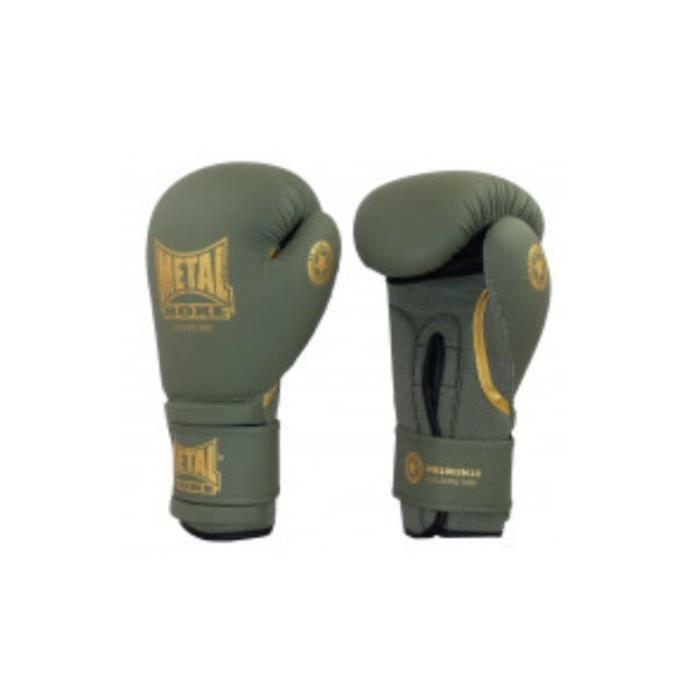 Gants de boxe MB1003M Metal Boxe Kaki - 10 oz