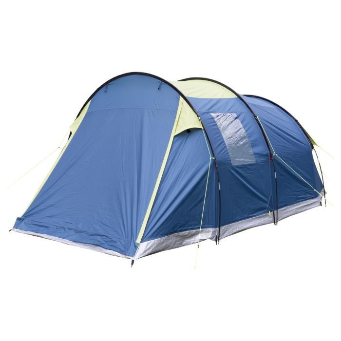 TRESPASS Tente Caterthun - 4 personnes - bleu