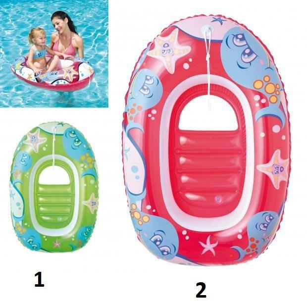 Bateau gonflable enfant bouee piscine 102x69cm modele for Protection enfant piscine