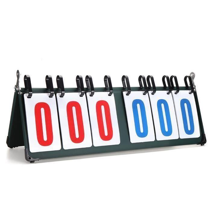 Score Flipper Tableau D Affichage Portable Tableau De Bord 6 Chiffres Bo59617 Prix Pas Cher Cdiscount