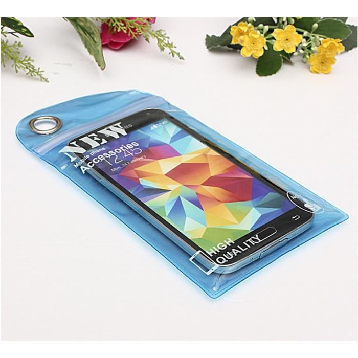 Housse tanche waterproof pour t l phone iphone ipod for Housse etanche pour iphone