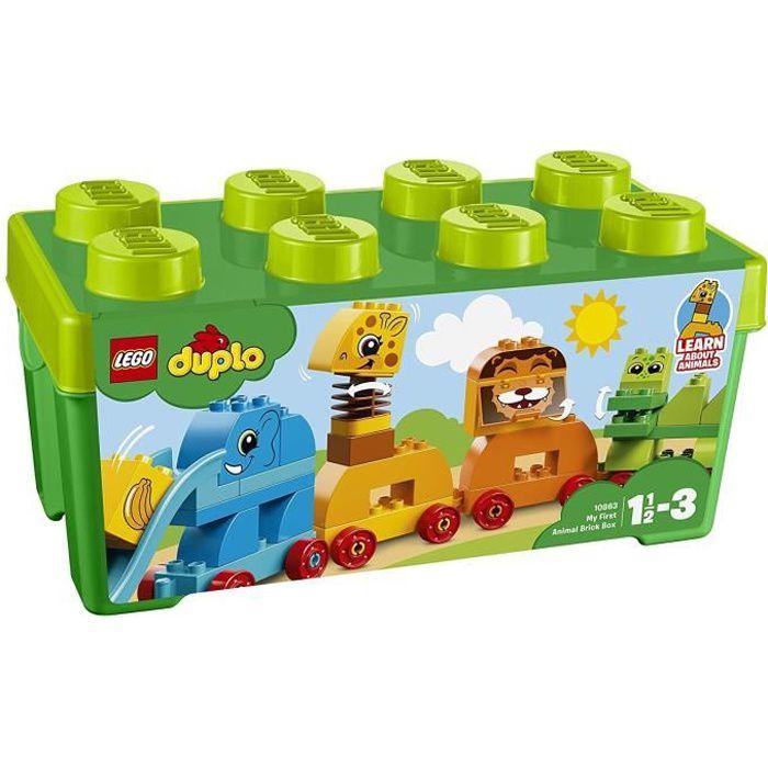 ASSEMBLAGE CONSTRUCTION LEGO® DUPLO® Mes 1ers Pas 10863 Mon premier train
