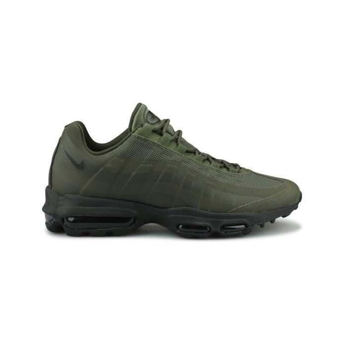 new style c982c ca384 BASKET Baskets Nike Air Max 95 Ultra Essential Kaki