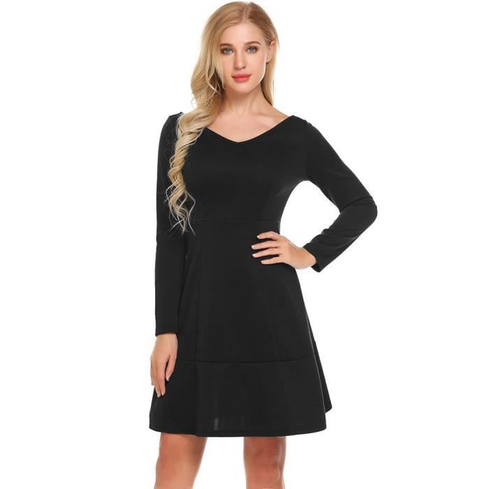 718d780b33f0e robe-femmes-casual-v-neck-a-manches-longues-solid.jpg