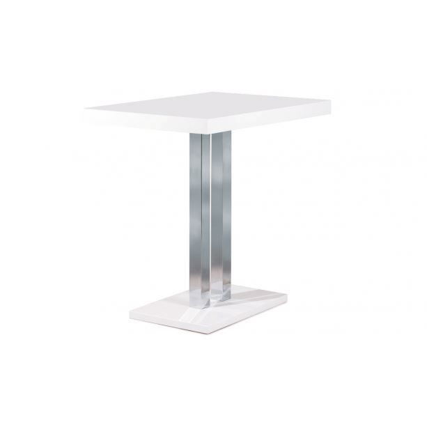 Table de bar palazzi blanc achat vente mange debout for Achat table bar