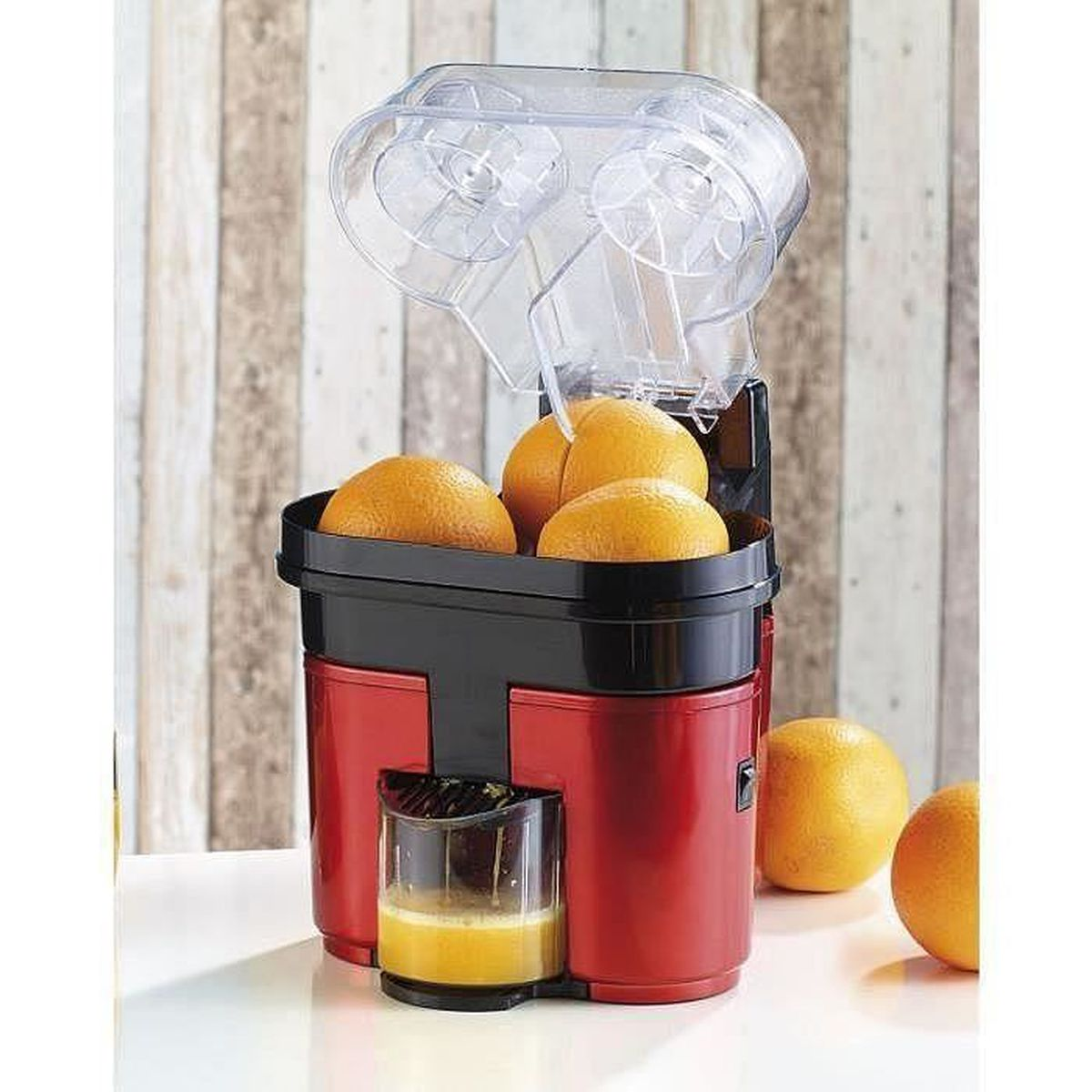 Double presse agrumes a coupe automatique jus de fruits - Extracteur de jus moulinex zu255b10 ...