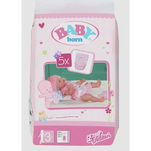 BABY BORN Pack de 5 Couches