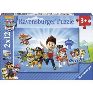 PUZZLE Ryder et Pat Patrouille Ravensburger - 07586 - Lot