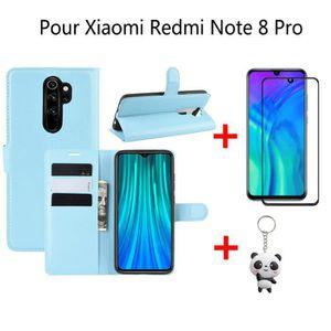 HOUSSE - ÉTUI Luxe Housse Xiaomi Redmi Note 8 Pro Housse Folio É