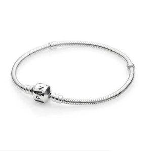 BRACELET - GOURMETTE Bracelet Pandora 925 chane en argent sterling bric