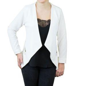 Veste tailleur femme, veste en jean, blouson court