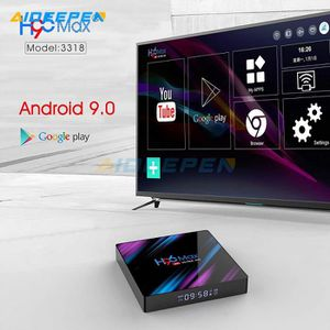 BOX MULTIMEDIA H96 MAX 3318 TV box Android 9.0 4Go+32Go TV 4K HDR