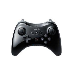 CONSOLE WII U wii Manette Classique Wii U Pro Noire